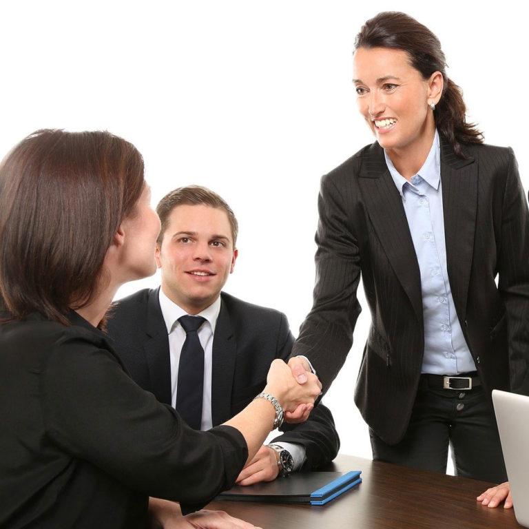 Frauen in Führungsposition